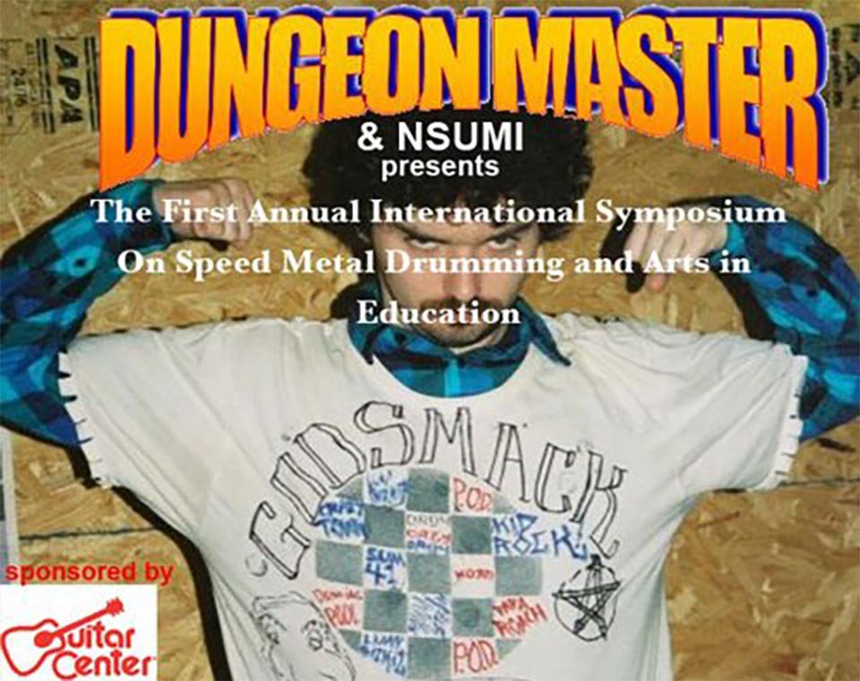 The First International Symposium on Speed Metal Drumming and Arts in Education